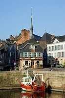 France, Calvados, Honfleur, harbour