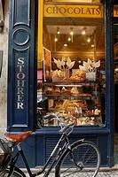 France, Paris, Patisserie Stohrer, Rue Montorgueuil