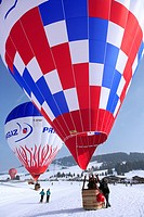 France, Savoie, Les Saisies, 26th aerial games