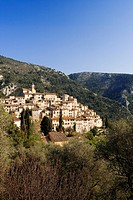 France, Alpes Maritimes, Peillon village