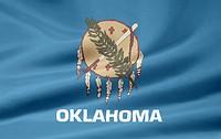 Oklahoma Flagge