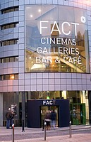 United Kingdom, Liverpool, Wood Street, FACT Foundation for Art & Creative Technology centre, a video, cinema, coffee and gallery complex by architect...