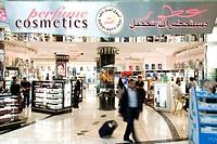 United Arab Emirates, Dubai, Dubai International Airport, Dubai Duty Free, perfumes and cosmetics shop