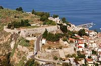 Greece, Peloponnese, Nafplion, Akronafplia