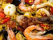 Paella, spanisches Nationalgericht