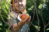 Apfel mit Kind