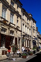 France, Oise, Senlis, rue du Chatel