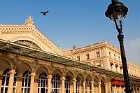 France, Paris, restored Gare de l´Est, February 2008