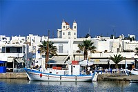 Greece, the Cyclades, Paros Island, Naoussa
