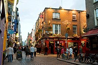 Ireland, Dublin, district of Temple Bar, Temple Bar