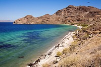 Mexico, Baja California Sur, Sea of Cortes listed as World Heritage by UNESCO, Playa Coyote