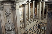 France, Paris, Quartier Latin, Pantheon