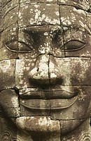 Cambodia, Siem Reap Province, Angkor site listed as World Heritage by UNESCO, former city of Angkor Thom, Bayon Temple built by King Jayavarman VII, c...