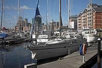 Urban redevelopment, Ipswich Wet Dock, Ipswich, Suffolk, England