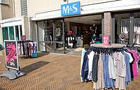M & S clothing shop Katwijk, Holland