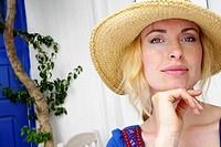 30 year old woman in a Mykonos, Cyclades Islands, Greece, Europe