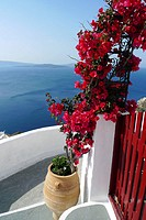 Santorini view, Oia, Cyclades Islands, Greece