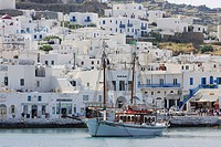 Port of Mykonos, Cyclades Islands, Greece