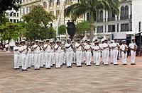 Military band, Guayaquil, Guayas Province, Ecuador