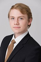 young businessman in portrait