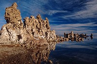 Tufa Towers rise out of Mono Lake State Reserve California USA