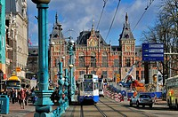 Netherlands, Northern Holland, Amsterdam, Amsterdam train station