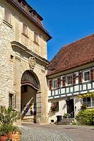 Old town, Kirchberg at Jagst, Baden_Wurttemberg, Germany, Kirchberg an der Jagst