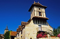 France, Lot, Alvignac, Traditional pigeon house in Quercy _ Property realease OK