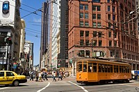 United States, California, San Francisco, downtown, Market Street