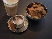 Italian coffee and biscuits Sweden.