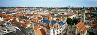 Cityscape of Munich, Bavaria, Germany