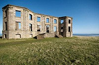 The ruins of Downhill House / Castle Sited on the Downhill Estate, Northern Ireland