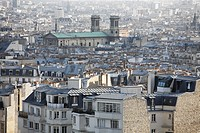 View over Rooftops over Paris, France