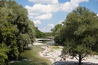 River Isar, Munich, Bavaria, Germany (thumbnail)