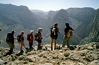 Morocco, High Atlas, high plateau, Taghia area, hiking