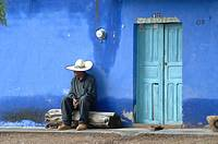 Old man. Jerez. Zacatecas. Mexico