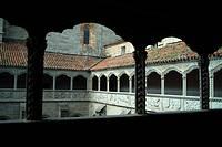 Claustro del Silencio. Real Monasterio de Santo Tomás. Avila. Spain