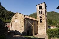 Iglesia de Sant Cristòfol de Beget  Románica  Siglo XII  Beget, Camprodón, Ripollés, Girona, Catalunya, España