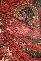 Mosaic by Nicholas Roerich 1910_1914, Church of Holy spirit, Talashkino, Smolensk region, Russia