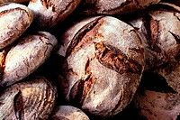 France, Gard, Le Vigan, a Bio Bakery Ezequiel Rodriguez, le Fournil des Cevennes the BakeHouse of the Cevennes, Rye bread