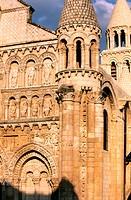 France, Vienne, Poitiers, Notre Dame la Grande church