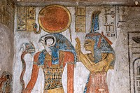 Egypt, Upper Egypt, Nile Valley, surroundings of Luxor, Thebes Necropolis listed as World Heritage by UNESCO, Western area, Valley of the Kings, Tause...