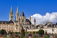 France, Calvados, Caen, Abbaye aux Hommes Abbey of Men