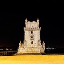 Torre de Belem at night