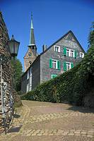 Germany, Wetter Ruhr, Ruhr area, North Rhine-Westphalia, D-Wetter-Alt Wetter, settlement ´Freiheit´, historic town centre, Middle Ages, evangelic chur...