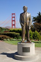 Statue of Joseph B Strauss