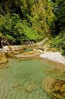 Corriente de agua en las Gargantas de Kakueta, Francia