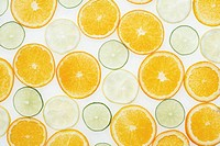 Slices of citrus fruits, cross_section