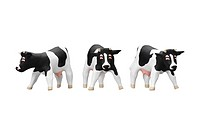 Cows made of clay