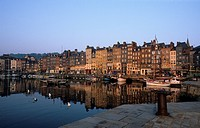 France _ Honfleur Harbour, Normandy